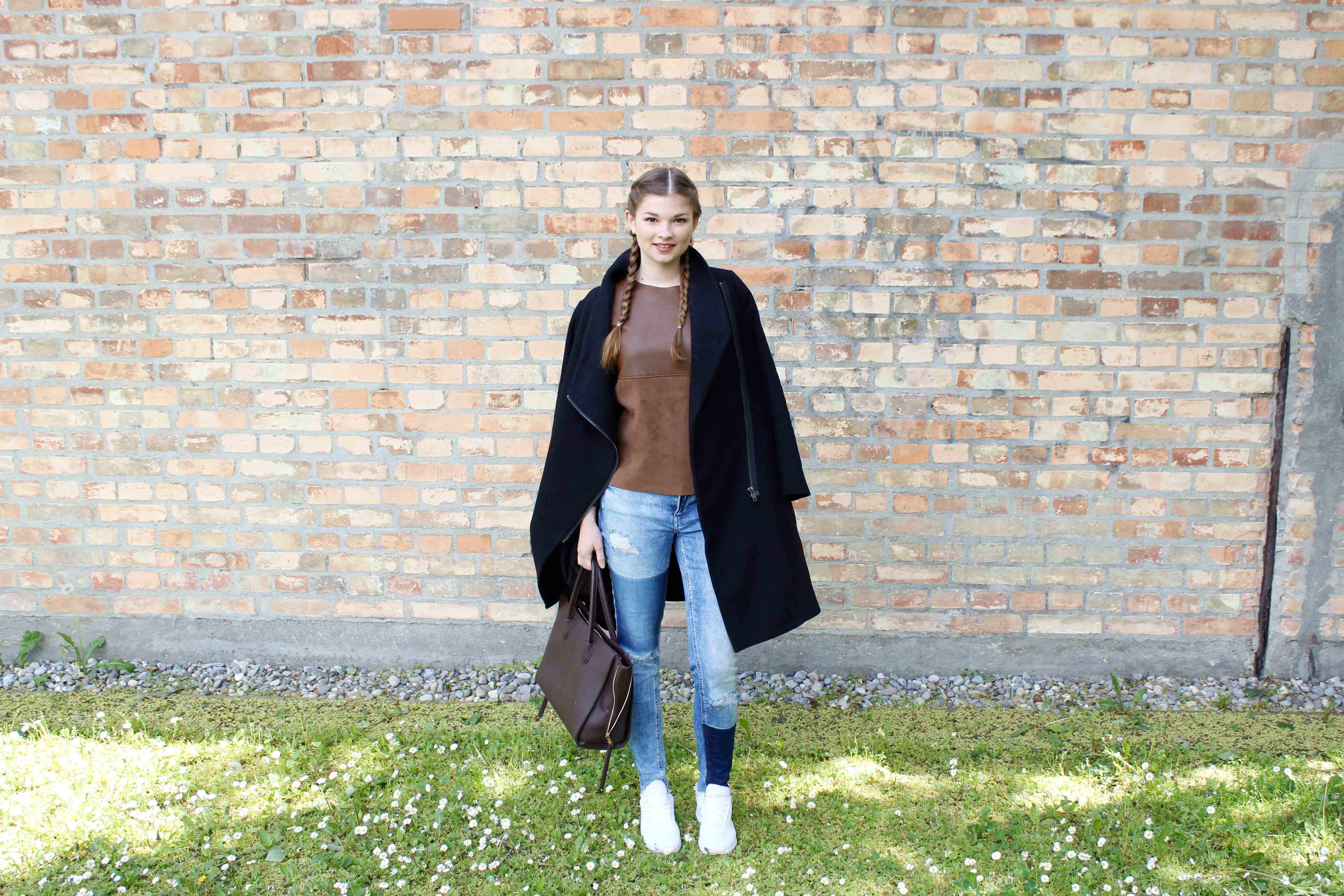 Jeans Sneakers Outfit Jeans von Only