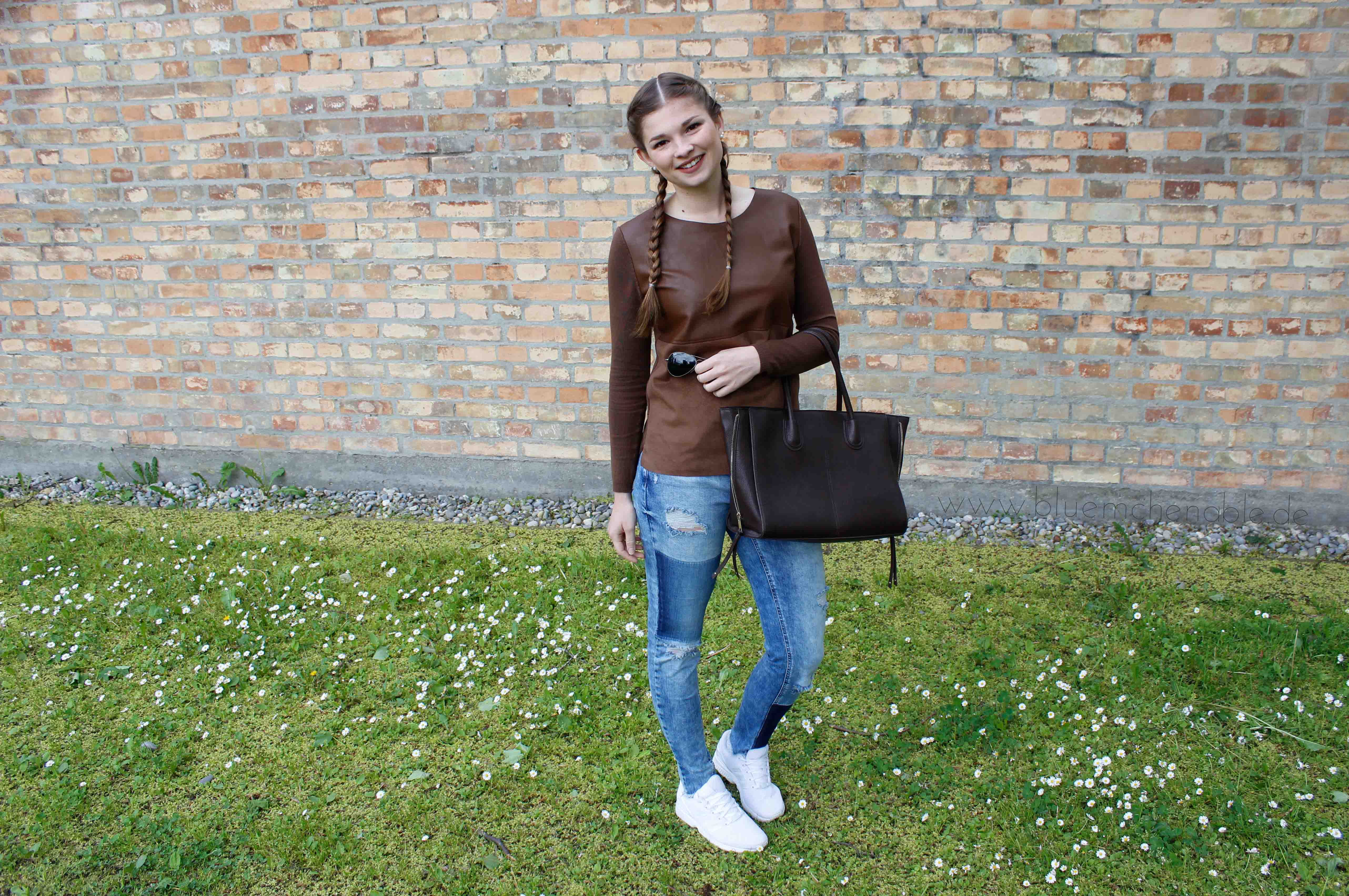Jeans and Sneakers Outfit Jeans von Only