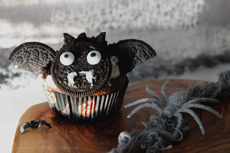 Oreo Halloween Snacks Fledermaus Muffins
